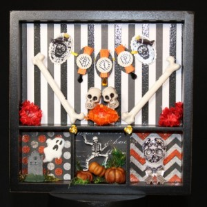 Them Bones Shadow Box