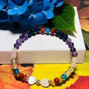 """Two Hearts Bracelet - """"I Love You My Girl""""  