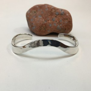 Silver Top-Forged Bracelet - Size 7