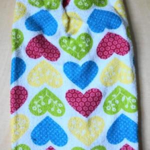 Sweetheart Crochet Kitchen Towel