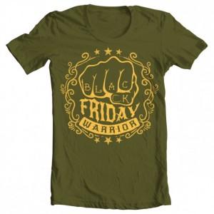 Black Friday Warrior Men's Tee