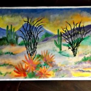 Arizona Desert Scene