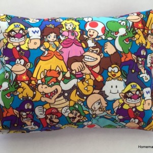 Nintendo Cotton Throw Pillow