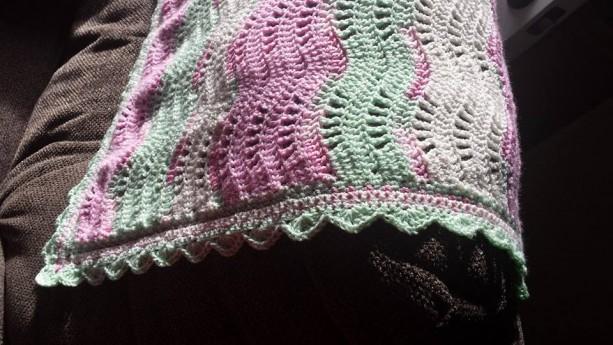 Breezy Waves Baby Blanket