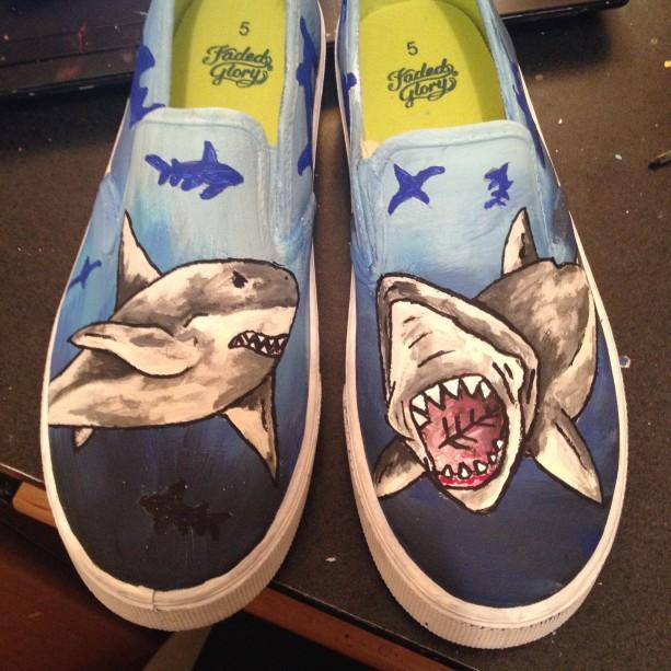 Great White Shark -- Silouhette