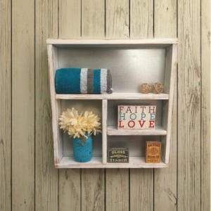 Rustic bathroom shelf, wooden shelves, rustic home decor, rustic country decor, shabby chic decor, rustic chic, home decor,