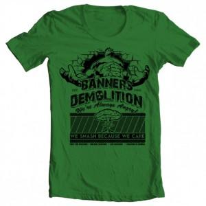 Girls' Banner's Demolition Tee