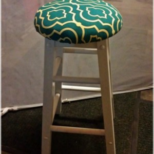 Shabby Chic Stools - Set of 3 Stools