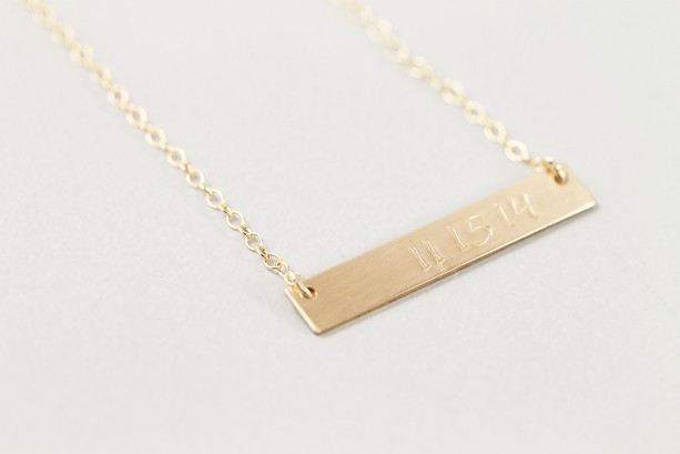 necklace wedding gold listing rlsz bar il date anniversary