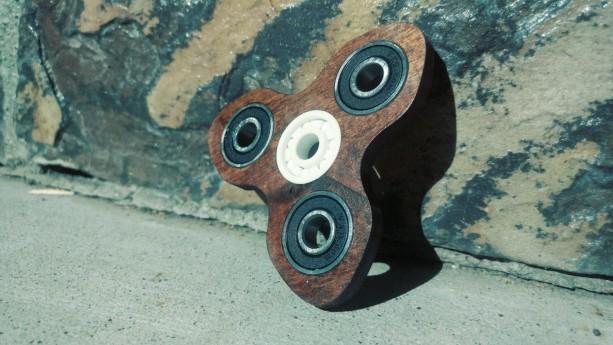 Turbine Wooden EDC Hand Spinner Fidget Toy