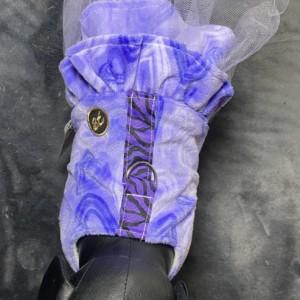 """XXS Purple Heart Tutu 13-14"""" girth"""