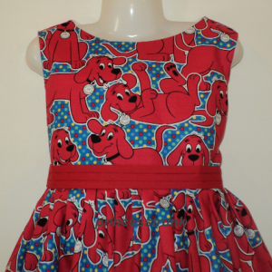 NEW Handmade Sesame Street Elmo Blue Dress Sz 12M-14Yrs