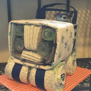 Jeep Diaper Cake