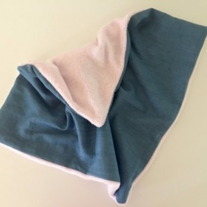 Denim cotton lovey, security blanket, lovey, blanquet, baby security blanket, baby boy security blanket, cuddle lovey
