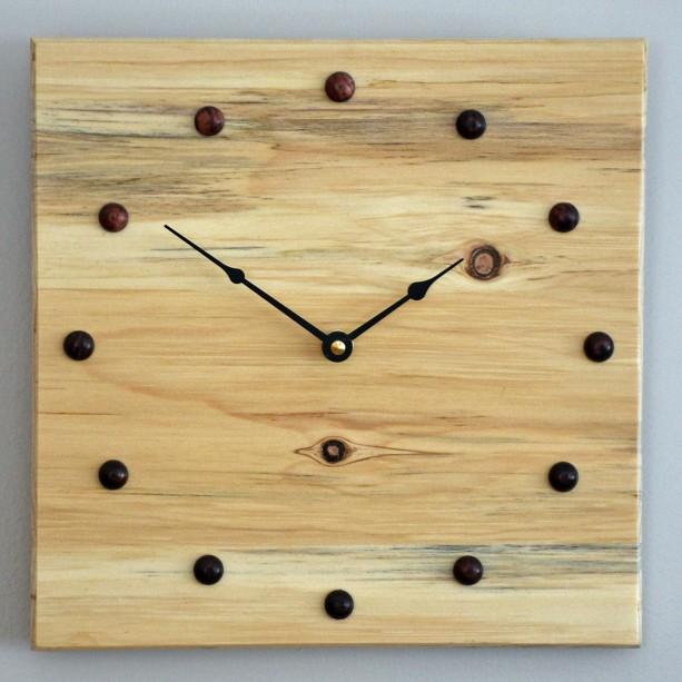 10 inch Blue Pine Wall Clock