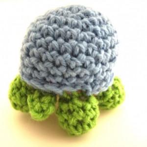 Crochet Amigurumi Turtle Plush Toy