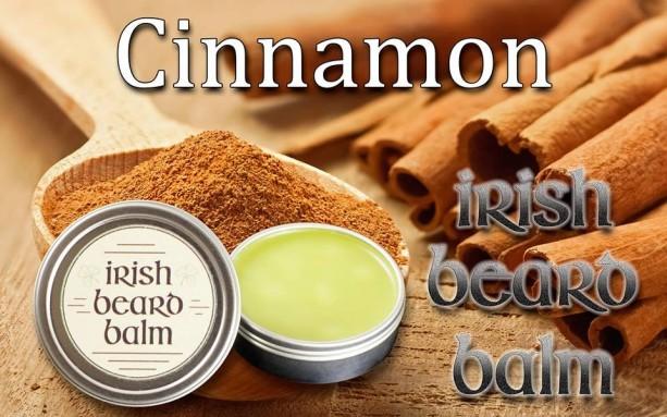 Irish beard balm Cinnamon  2 ounce tin