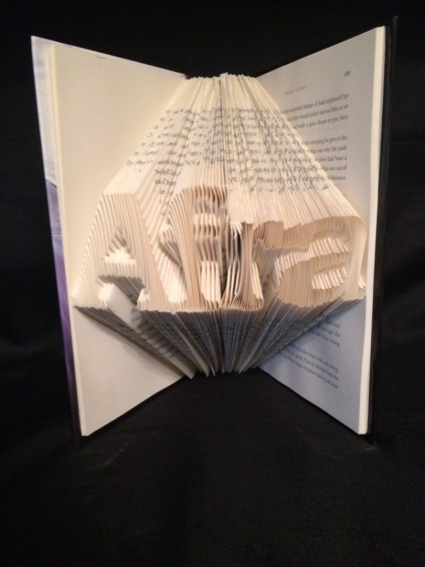 Customizable Words (Family Name  or First Name) / Book Folding