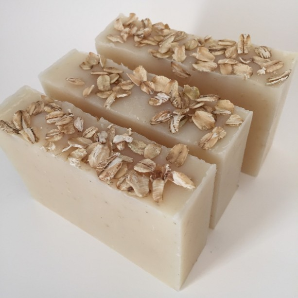 Simple oatmeal - handmade soap natural soap unscented soap handcrafted soap oat extract gentle cleansing soap