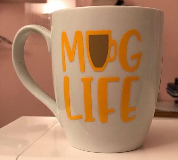 HTV Mug Life Coffee Mug
