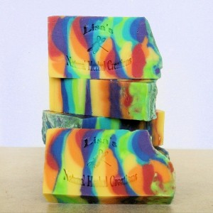 Cannabis Flower Handcrafted Soap, Handmade Soap, Hippy Soap, Natural Soap, Vegan Soap,