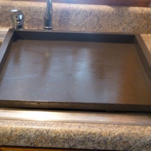 Primitive Kitchen, Tray, Expresso Brown Sink Cover, Country Kitchen Tray, Wooden Tray, Stove Top Cover, Stove Top Cover, Space Saver