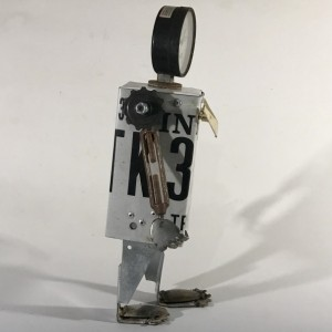 Truck Found Object Assemblage Robot by Jeffery Weatherford