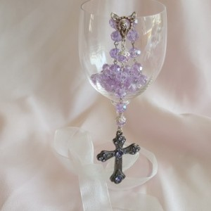 Purple Rosary Beads