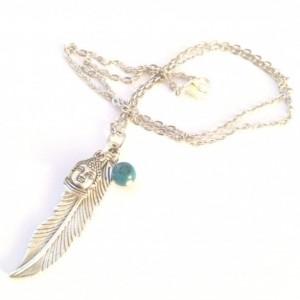Silver Buddha Necklace