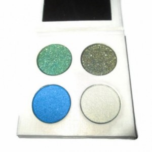 Pressed Powder Mineral Eye Shadow Quad