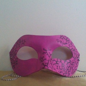 """Corruption Spreading"" Cosplay/Masquerade Mask"