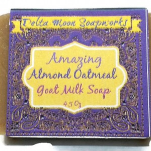 Oatmeal Shea Soap and sweet  Almond Oatmeal Goat Milk Soaps, Oatmeal soap, sesnsitive skin,exfoliating soap,shea butter soap, soothing soap