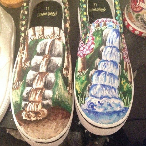 Waterfall Shoes