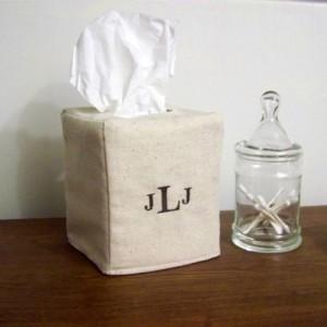 Personalized Tissue Box Cover