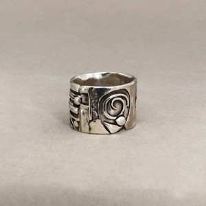 Fused Sterling Silver Band