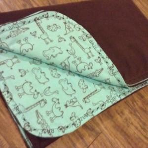 Woodland baby name blanket Large Flannel baby girl Blanket baby boy blanket toddler owl forest nursery