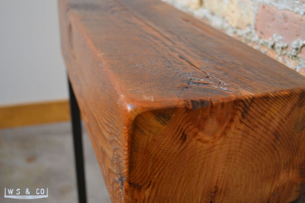 ... Reclaimed Beam Entry Table - 24