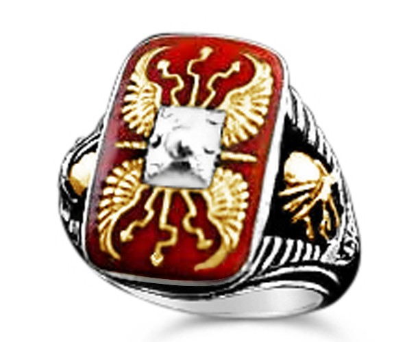 Roman Legion Shield Ring