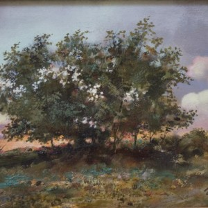 Landscape by Bogdan Goloyad 20x30 cm oil on karton