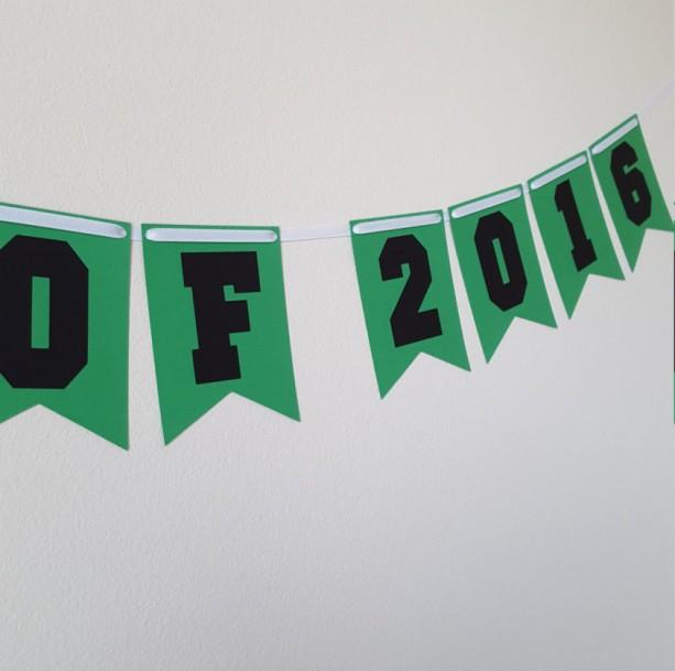 graduation party decorations class of 2016 banner grad congrat
