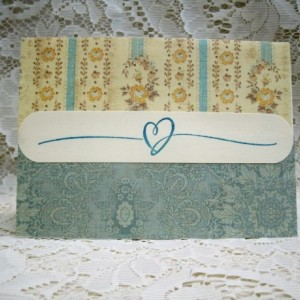 Set of 2 matching Sympath Cards, Printed inside... #6482
