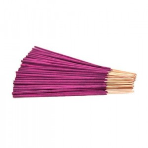 "Lotus 10"" Incense sticks 40 sticks per pack Pink in color"