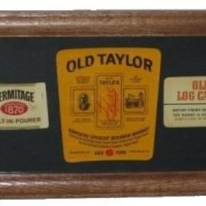 Bourbon Bottle Label Art, free shipping