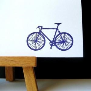 Gocco Printed Bicycle Notecards (6 pack)