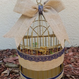 Wedding Birdcage Cardholder