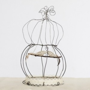 Large Birdcage Sculpture