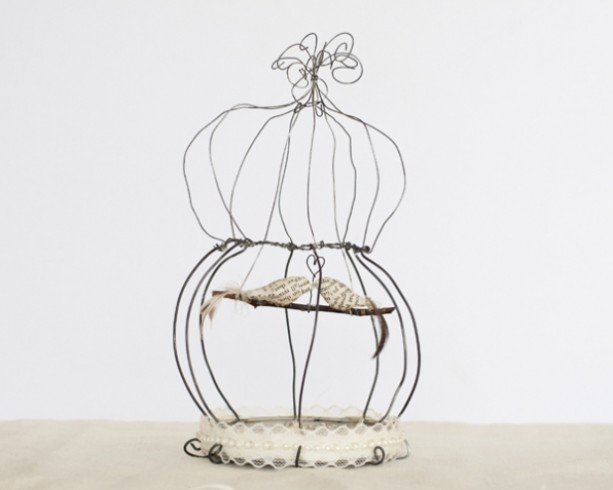 Large Birdcage Sculpture