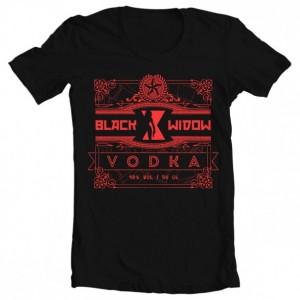 Girls' Black Widow Vodka Tee