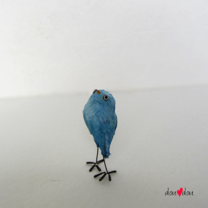 Blue Bird Sculpture