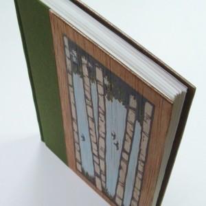 Handmade book original cover art